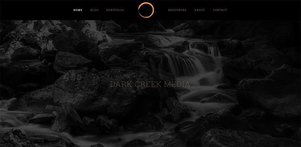 Dark Creek Media website