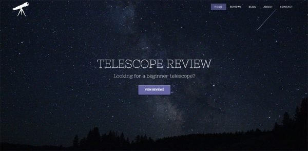 Telescope Review website