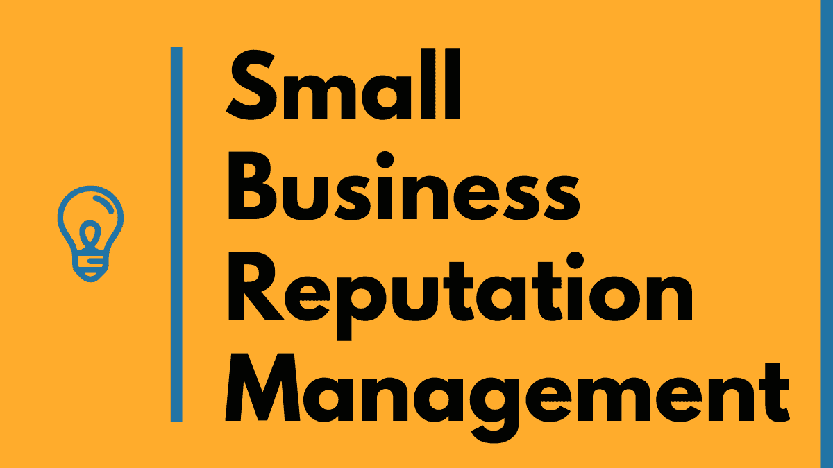 small business reputation management