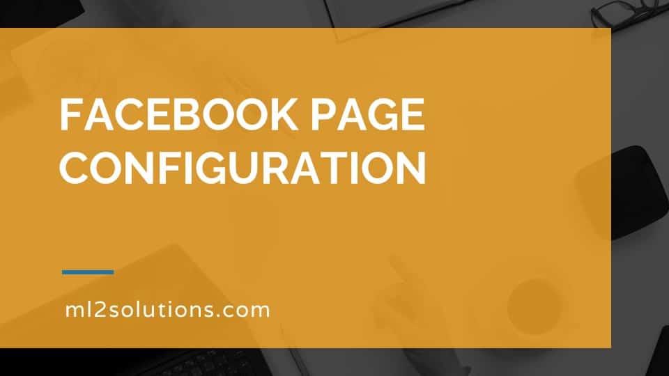 Facebook Page configuration