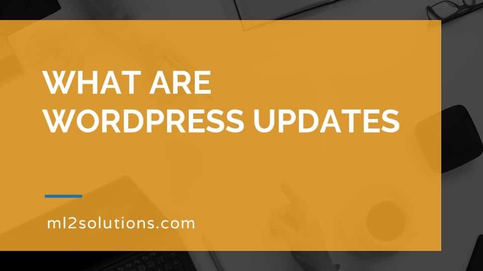 What are WordPress updates