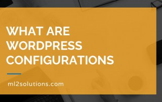 What are WordPress configurations
