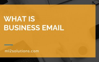 What is business email